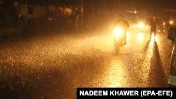 بارانهای شدید در پاکستان