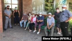 Жители села Доскей. Карагандинская область, 29 июня 2021 года