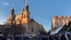 Прага готується до святкування Різдва – відео