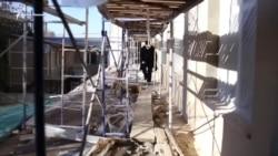 Похитили имущество и обрезали провода – субботняя служба в храме ПЦУ в Симферополе (видео)