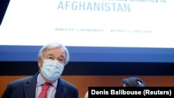 آنتونیو گوترش سرمنشی سازمان ملل