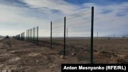 Забор вокруг стройплощадки