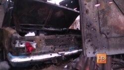 Обстрел станицы Луганская