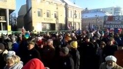 """Демонстрация под лозунгом """"Защити свою свободу"""" в Варшаве"""