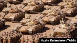 Военные учения вооруженных сил России, Таджикистана и Узбекистана