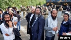 З 14 вересня на білорусько-українському кордонпочали збиратися хасиди, які намагаються потрапити до України