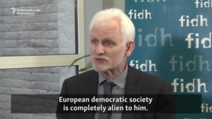 WATCH: Belarusian human rights activist Ales Byalyatski has called on the European Union to maintain political pressure on Belarus's authoritarian regime. On a visit to Brussels on February 3, the former political prisoner told E.U. officials that the situation inside the country has not improved since economic sanctions were suspended following the release of political prisoners last August. Speaking to Gregory Zhygalov of RFE/RL's Ukrainian Service, Byalyatski said Belrusian leader, Alyaksandr Lukashenka, has given no indication he's open to serious democratic reforms.