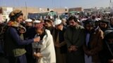 The funeral of a man killed in North Waziristan in December.