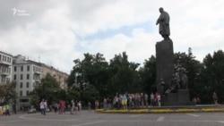 У Харкові мітингували на підтримку режисера Олега Сенцова – відео
