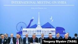 پانزدهمین نشست بینالمللی روند آستانه در سوچی روسیه