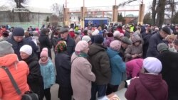 Russian Environmental Activists Protest Dump North Of Moscow