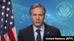 Secretatul de stat american Antony Blinken, februarie 2021.