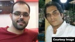 امین افشارنادری و هادی عسگری، دو نوکیش مسیحی که در زندان اوین دست بهاعتصاب غذا زدهاند