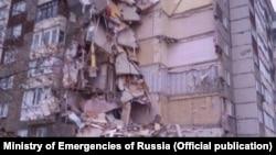 Обрушение дома в Ижевске, фото: МЧС России