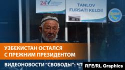 Президентом переизбран Шавкат Мирзиёев