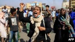 Протести во Судан