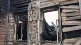 Дом Шахова в Вологде – уцелевшие после пожара фрагменты деревянной резьбы