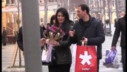 Valentin günü Bakıda