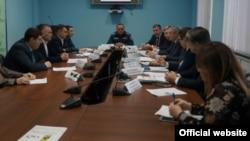 Совещание в минэкологии РБ с представителями РосРАО