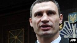 Лідер партії УДАР Віталій Кличко