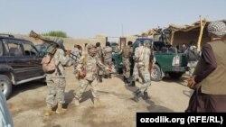 После боевой операции в уезде Калъаи Зол