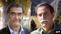 2012 წლის ნობელის პრემიის ლაურეატები ფიზიკის დარგში: ფრანგი სერჟ აროში (მარცხნივ) და ამერიკელი დევიდ უაინლენდი