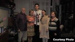 Владимир Алексеев в семейном кругу