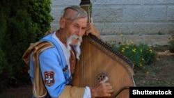 Остап Киндрачук в Ялте, архивное фото