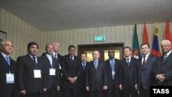 نشست وزيران انرژی کشورهای صادرکننده گاز که روز سه شنبه با مشارکت وزيران ۱۳ کشور در مسکو آغاز به کار کرد. (عکس از ITAR-TASS)