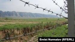Государственная граница между Кыргызстаном и Узбекистаном