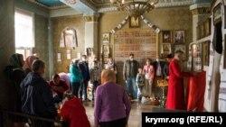 У Сімферополі відбулося пасхальне богослужіння в соборі Кримської єпархії ПЦУ. 2 травня 2021 року