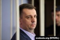Андрэй Дамарацкі падчас суду