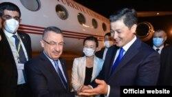 Кыргызстанга Түркиянын вице-президенти Фуат Октай келди. 9-сентябрь, 2021-жыл.