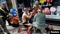 В результате теракта в Бостоне погибли три человека, более 260 были ранены