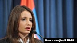 Nela Kuburović, ministarka pravde Srbije