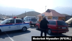 Кыргызско-таджикская граница. 14 марта.