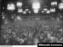 Bürgerbräukeller zalı, 1923-cü ildə nasistlərin toplantısı