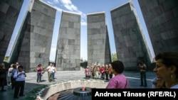 Мемориал, посвящённый геноциду армян в Ереване