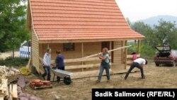 Izgradnja kuće u Podrinju