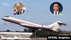 Російський високопосадовець прилетів в Оман у ніч з 7 на 8 січня тим же чартерним літаком із бортовим номером 9H-VJN, який через добу доправив президента України з Маската в Київ