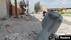 Սիրիա - Ավերածություններ Դարաայում, մարտ, 2013թ.