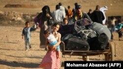 طبق آمارهای سازمان ملل متحد شمار افرادی که در داخل سوریه آواره شدهاند به ۶.۲ میلیون نفر رسیده است.