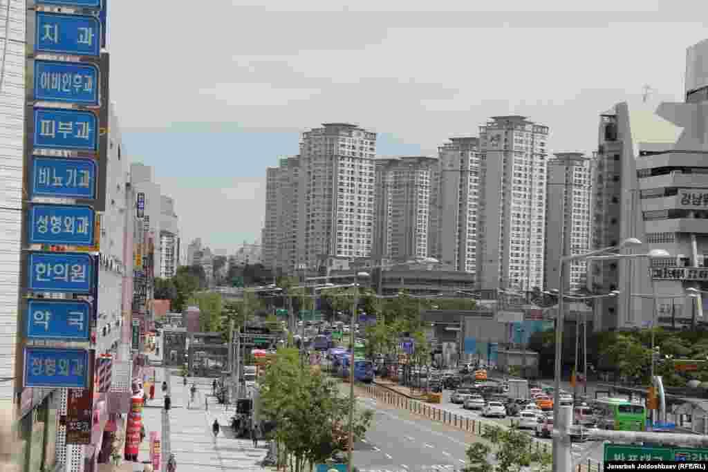 В Сеуле столько людей живут, что можно запросто разместить два Кыргызстана