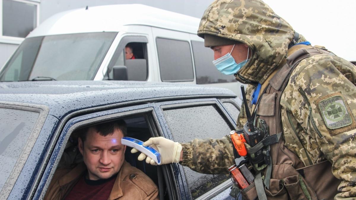 Военные объяснили ограничения на въезд в зону ООС через коронавирус