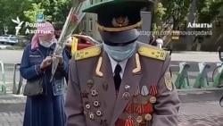 В Алматы ветерана не пустили к Вечному огню