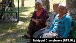 Төмөнкү Серафимовка айылындагы карыялар интернаты.