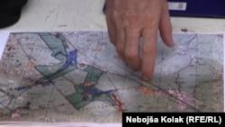 Zemljište na kojem bi trebao biti izgrađen aerodrom obuhvata područje na teritoriji grada Trebinje, na jugoistoku BiH, površine 1234 hektara na širem području naselja Hum, Taleža i Cerovac