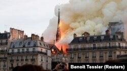 Աստվածամոր տաճարի հրդեհը, Փարիզ, 15 ապրիլի, 2019թ.