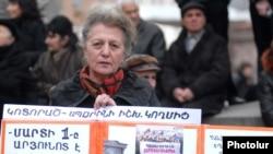Yerevanda müxalifətin mitinqi, 1 mart 2011