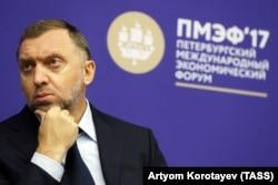 Russian billionaire Oleg Deripaska (file photo)